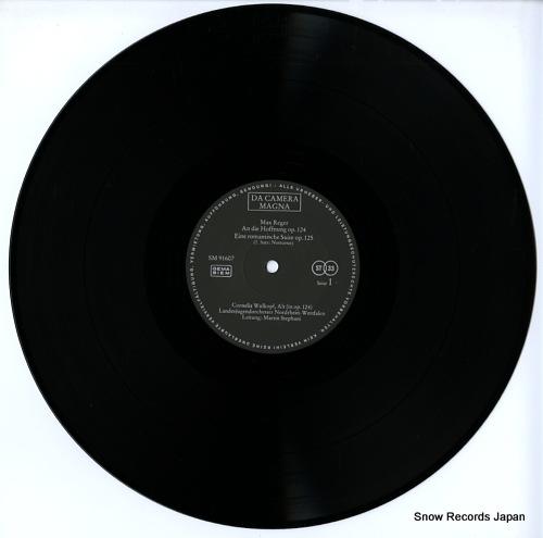 STEPHANI, MARTIN max reger; an die hoffnung op.124 SM91607 - disc