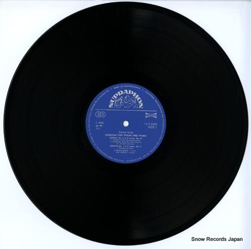 BROZ, ZDENEK, AND JAN VRANA grieg; sonatas for violin and piano 11113164 - disc