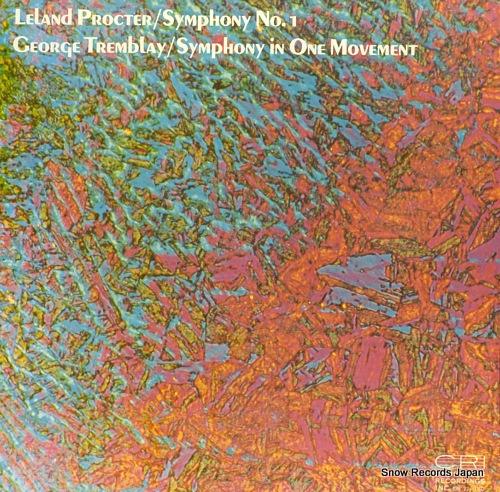 ORMICKI, WLODZIMIERTZ / FREDERIC BALAZS leland procter; symphony no.1 CRI224USD - front cover