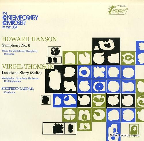 LANDAU, SIEGFRIED howard hanson; symphony no.6 TV-S34534 - front cover