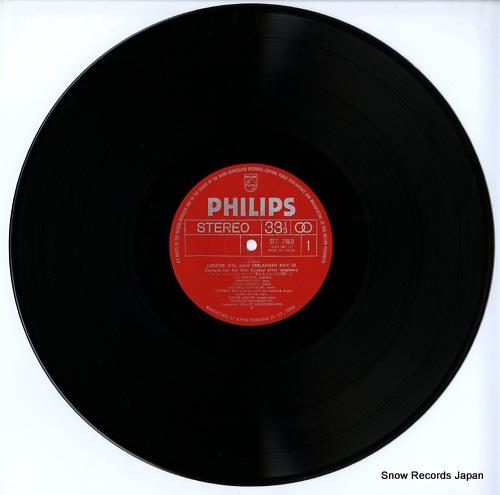 WINSCHERMANN, HELMUT bach; cantata SFX-7860 - disc