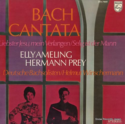 WINSCHERMANN, HELMUT bach; cantata SFX-7860 - front cover