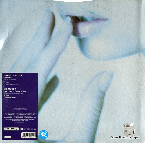 PATTON, ROBERT / DR. MONEY 1.000dol. / my love is crazy 4 you AV19/2000 - back cover
