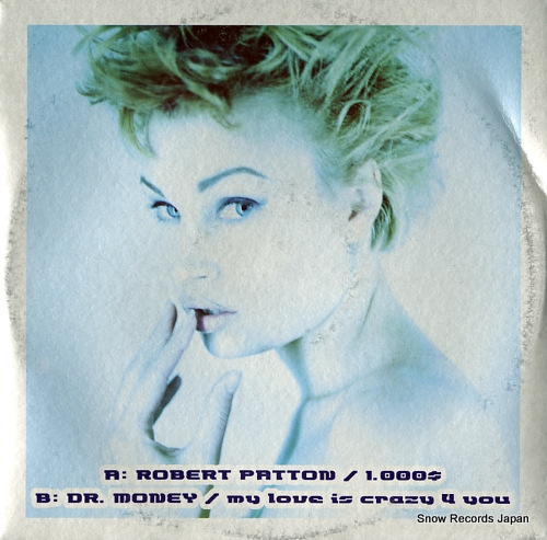 PATTON, ROBERT / DR. MONEY 1.000dol. / my love is crazy 4 you AV19/2000 - front cover
