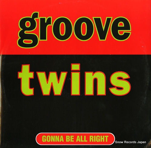 GROOVE TWINS gonna be all right ABEAT1181 - front cover