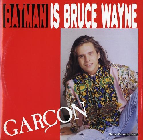 GARCON batman is bruce wayne HRG112 - front cover