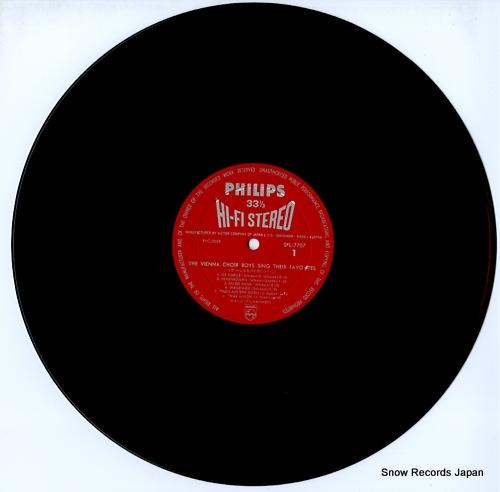 VIENNA CHOIR BOYS, THE sing their favorites SFL-7707 - disc