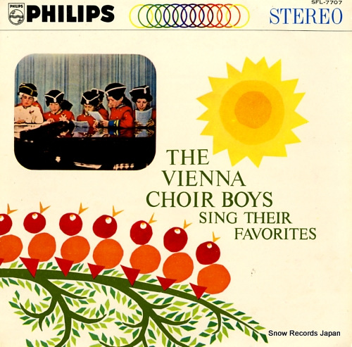 VIENNA CHOIR BOYS, THE sing their favorites SFL-7707 - front cover