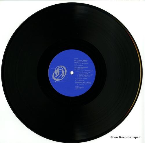 LOUISVILLE ORCHESTRA milhaud; quatre chansons de ronsard LS-744 - disc