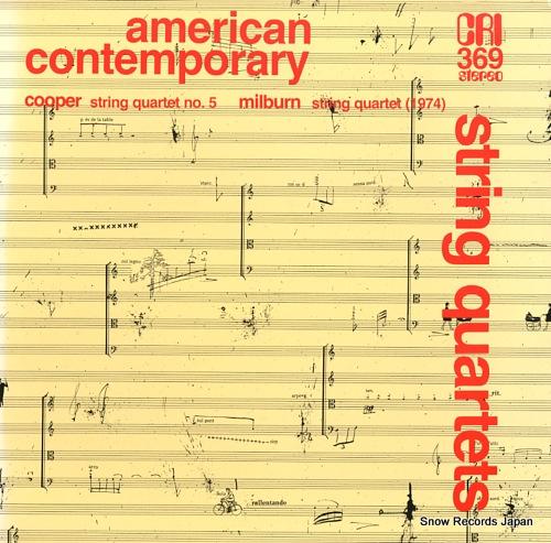 SHEPHERD QUARTET cooper; string quartet no.5(umbrae) CRISD369 - front cover