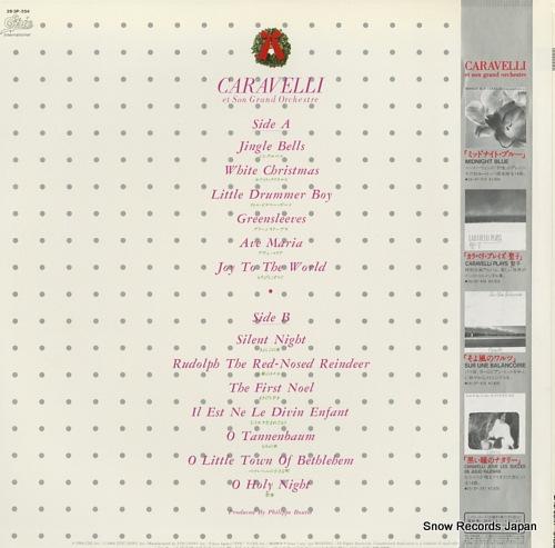 CARAVELLI christmas carols 28.3P-554 - back cover