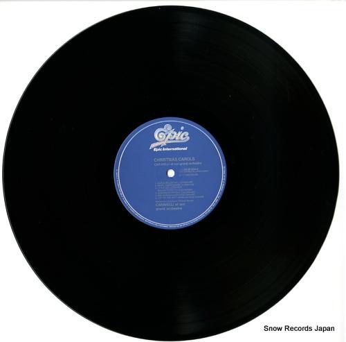 CARAVELLI christmas carols 28.3P-554 - disc