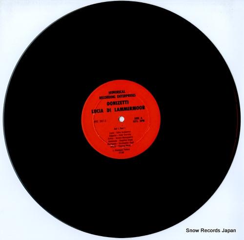 PATANE, GIUSEPPE donizetti; lucia di lammermoor HRE297-3(S) - disc