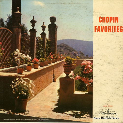V/A chopin; favorites XWN18891 - front cover