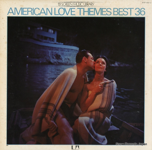 V/A american love themes best36 K15P-4021/2 - front cover