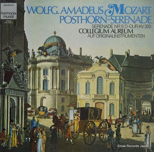 COLLEGIUM AUREUM mozart; serenade d-dur kv320