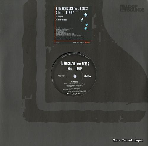 DJ MOCHIZUKI star....libre LSEP-014 - front cover