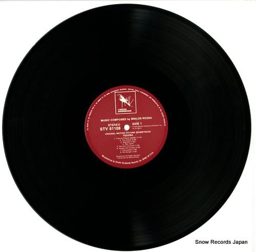 ROZSA, MIKLOS fedora STV81108 - disc