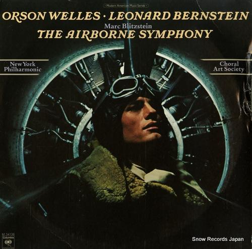 BERNSTEIN, LEONARD blitzstein; the airborne symphony M34136 - front cover