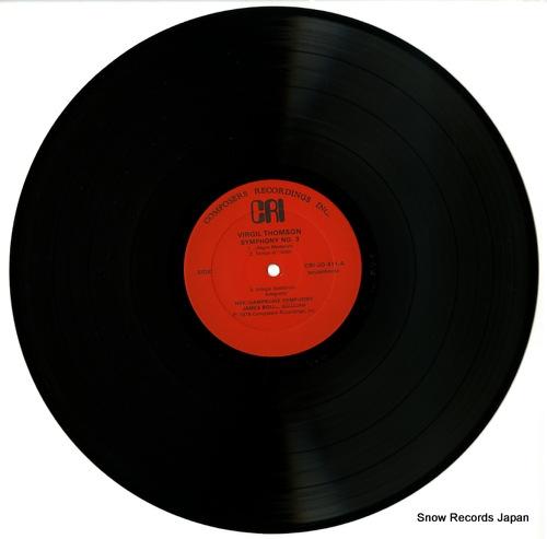 BOLLE, JAMES thomson; symphony no.2 CRISD411 - disc