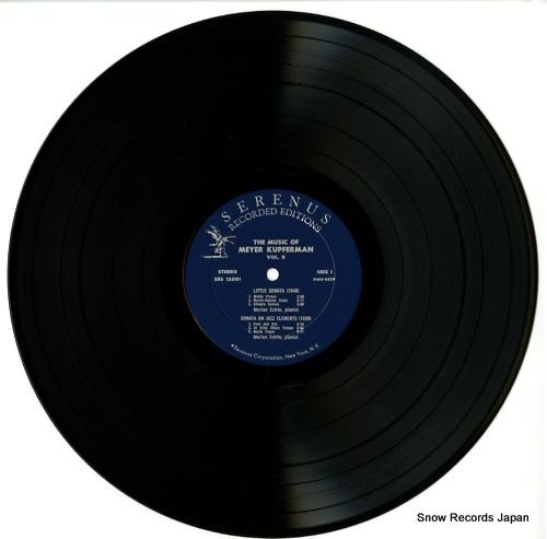 ESTRIN, MORTON the music of meyer kupferman 2 SRS12001 - disc
