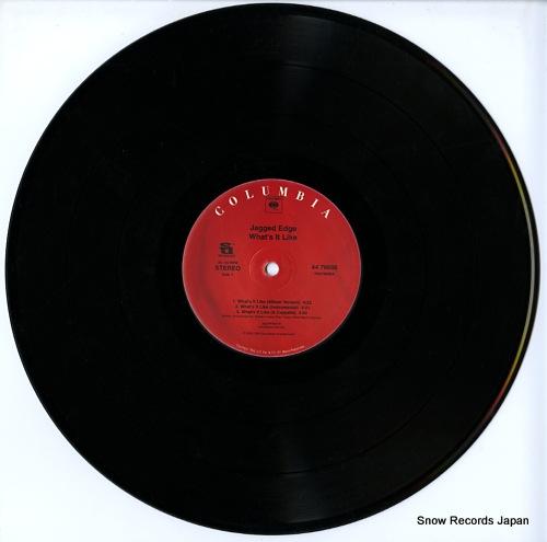 JAGGED EDGE what's it like 4476696 - disc