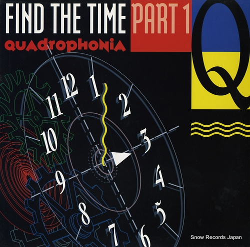 QUADROPHONIA find the time (part 1) 6576266 - front cover