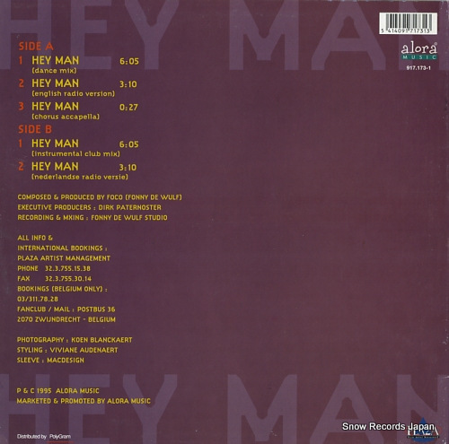 PLAZA hey man 917.173-1 - back cover