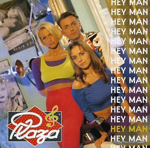 PLAZA hey man 917.173-1 - front cover