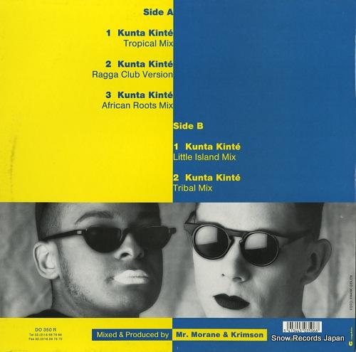 2 FABIOLA kunta kinte (remixes) DO350R - back cover