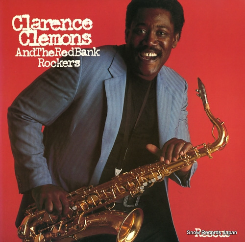 CLEMONS, CLARENCE, AND THE RED BANK ROCKERS rescue 25AP2704 - front cover