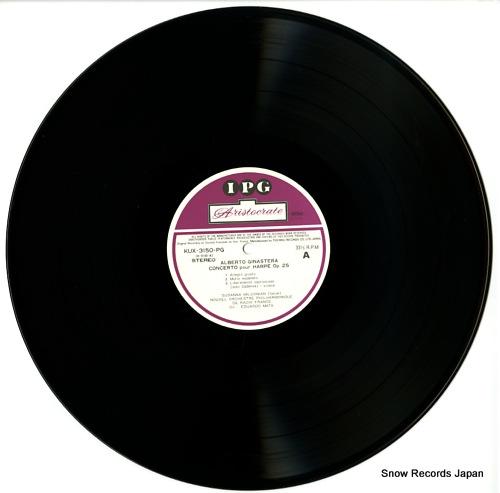MILDONIAN, SUSANNA ginastera; concerto pour harpe op.25 KUX-3150-PG - disc