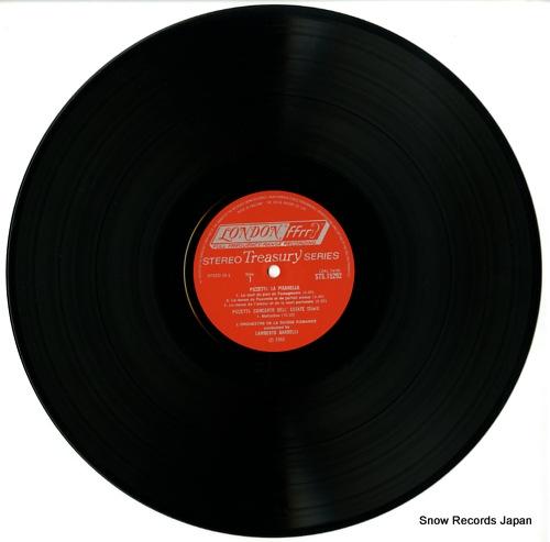 GARDELLI, LAMBERTO pizzetti; la pisanella STS15292 - disc