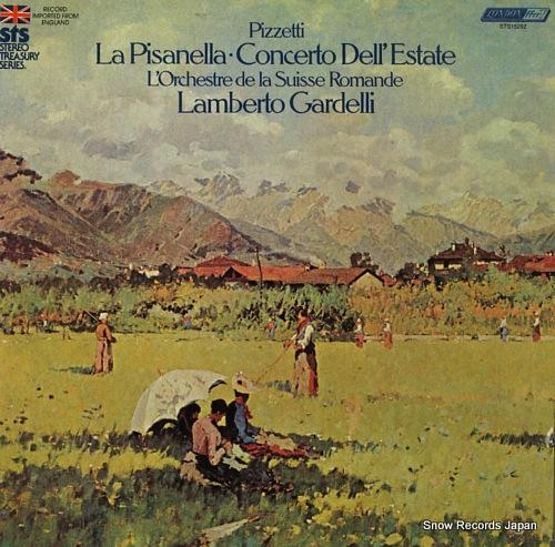 GARDELLI, LAMBERTO pizzetti; la pisanella STS15292 - front cover