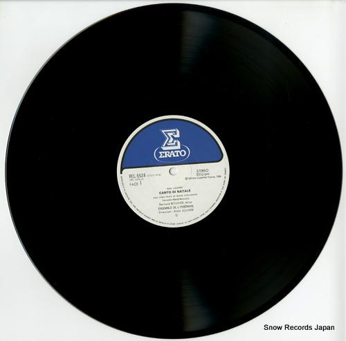 LOUVIER, ALAIN louvier; canto di natale REL-5524 - disc