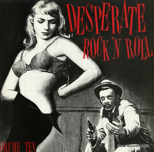 V/A desperate rock 'n roll volume ten FLAME010