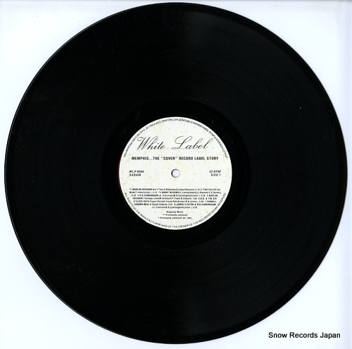 V/A memphis / the cover records label story WLP8966 - disc