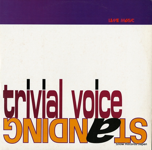 TRIVIAL VOICE standing LINE2043 - front cover