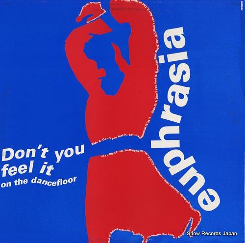 EUPHRASIA don't you feel it on the dancefloor G-003-12 - back cover