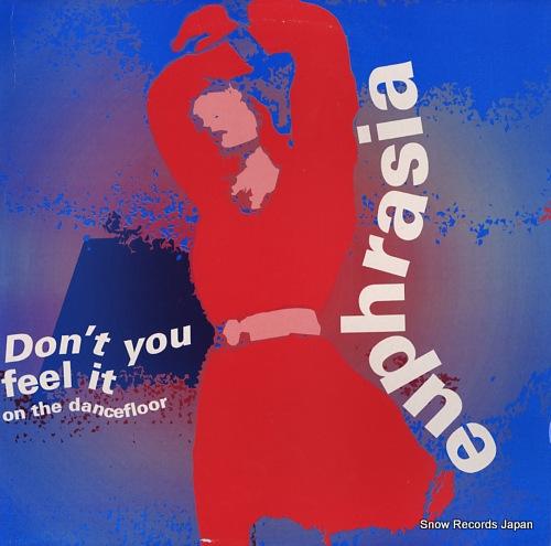 EUPHRASIA don't you feel it on the dancefloor G-003-12 - front cover