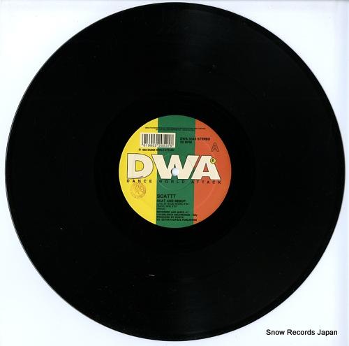 SCATTT scat and bebop DWA0043 - disc