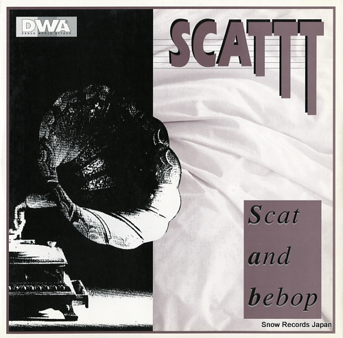 SCATTT scat and bebop DWA0043 - front cover