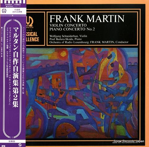MARTIN, FRANK martin conducts martin vol.2 H-6022V - front cover