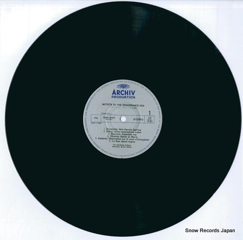 TURNER, BRUNO motets of the renaissance era 20MA0069 - disc