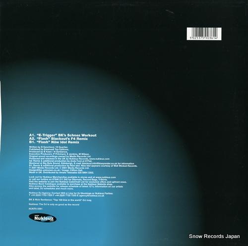 BK AND NICK SENTIENCE flash(part 2 mixes) NUKFA0361 - back cover