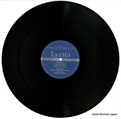 HERRMANN, BERNARD scott; piano concerto no.2 SRCS.82 - disc