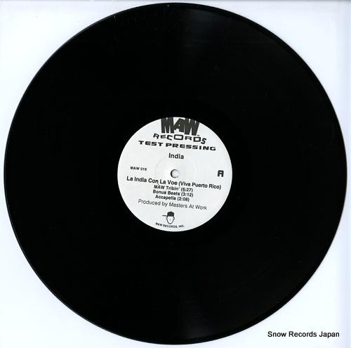 MAW la india con la voe (viva puerto rico) MAW016 - disc