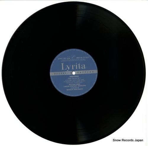 BRAITHWAITE, NICHOLAS rawsthorne; piano concerto no.1 & 2 SRCS.101 - disc