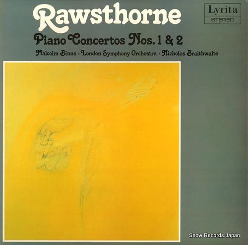 BRAITHWAITE, NICHOLAS rawsthorne; piano concerto no.1 & 2 SRCS.101 - front cover