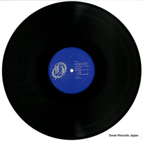 LOUISVILLE ORCHESTRA harris; symphony no.5 LS-655 - disc